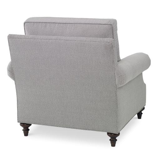 Custom Value Chair - Sloped Roll Arm