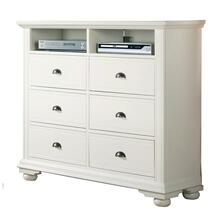 Brookpine White TV Stand White