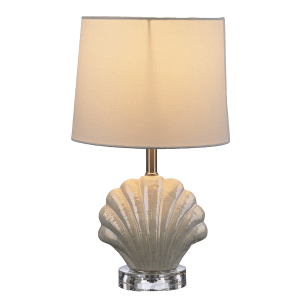 Luster Shell Accent Lamp. 40W Max. (4 pc. ppk.)