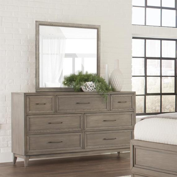 Riverside - Vogue - Seven Drawer Dresser - Gray Wash Finish