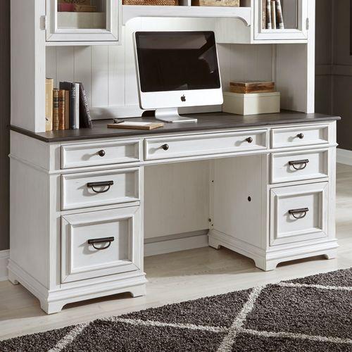 Liberty Furniture Industries - Jr. Executive Credenza Top