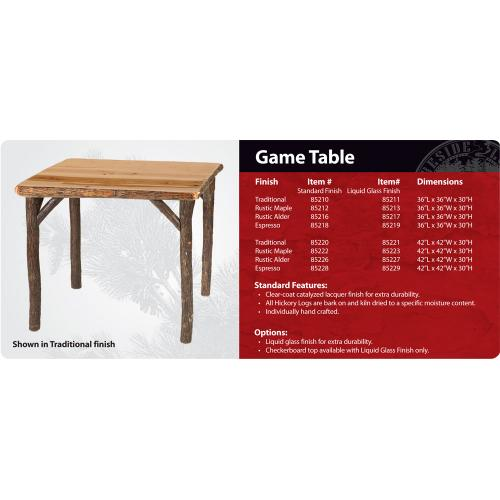 Product Image - Game Table