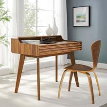 Render Writing Desk in Walnut