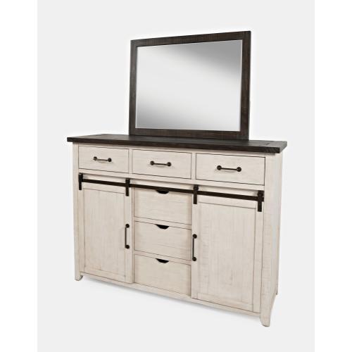 Jofran - Madison County  Mirror - Vintage White