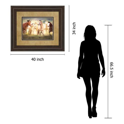"""Product Image - """"Dance Class"""" By Wendy Caro Framed Print Wall Art"""