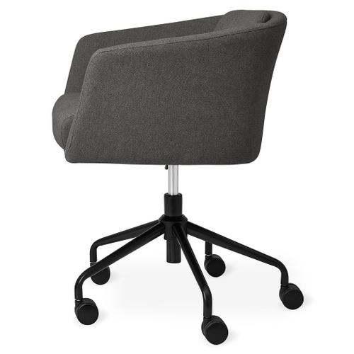 Radius Task Chair Bayview Silver / Black