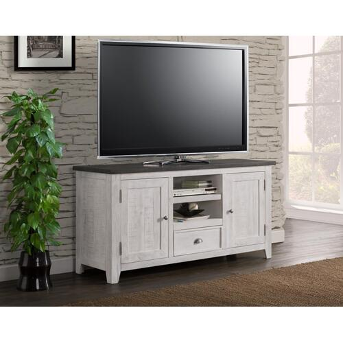 TV Stand - White & Grey