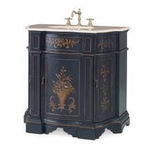See Details - Floral Ebony Sink Chest