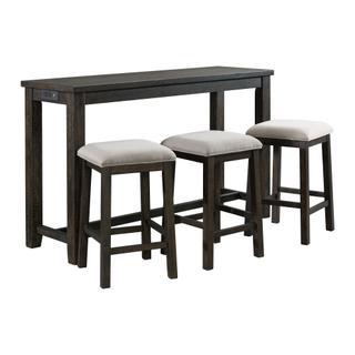 Stone Multipurpose Bar Table Set