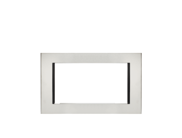 Stainless Steel 30 Inch Microwave Trim Kit