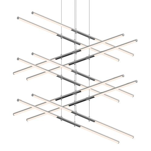 Sonneman - A Way of Light - Tik-Tak® LED Pendant [Size=Stack 5-Tier, Color/Finish=Polished Chrome]