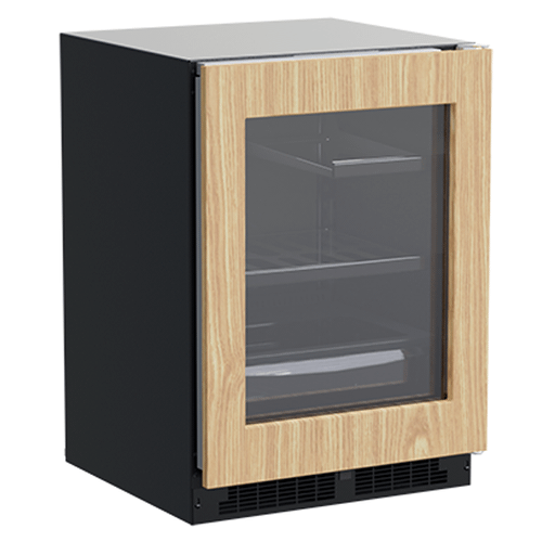 24-In Built-In Refrigerator With 3-In-1 Convertible Shelf And Maxstore Bin with Door Style - Panel Ready Frame Glass