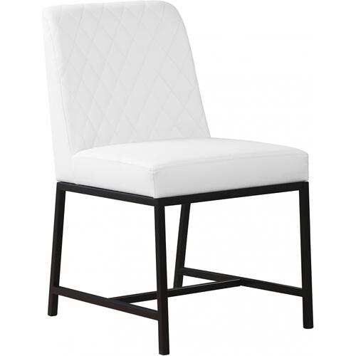 "Bryce Faux Leather Dining Chair - 18.5"" W x 22.5"" D x 35"" H"