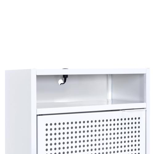 Ember Nightstand in White