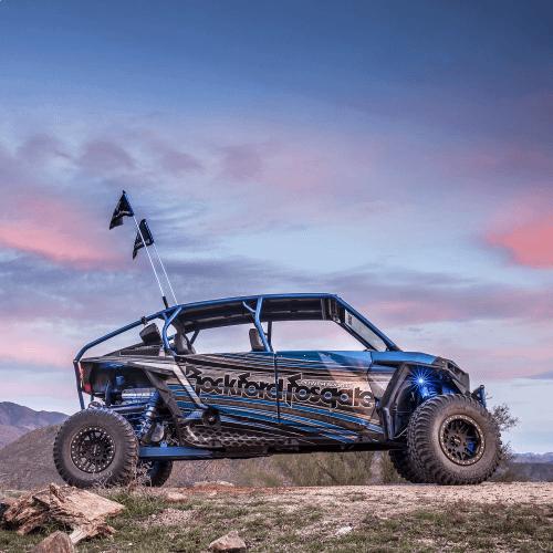 Rockford Fosgate - 1,150 Watt stereo, front and rear speaker, and subwoofer kit for 2014-2018 Polaris® RZR® models