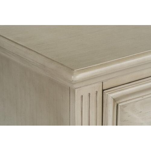 Standard Furniture - Passages Light 2-Drawer Nightstand, White