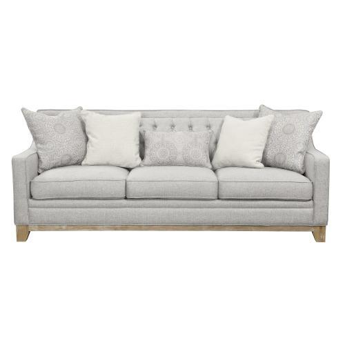 Emerald Home Furnishings - Jaizel Sofa & Loveseat Grey