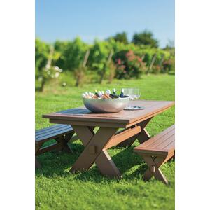 "Sonoma Dining Bench 76"" (071)"