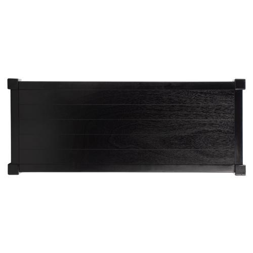 Safavieh - Rafiki 3 Shelf Console Table - Black