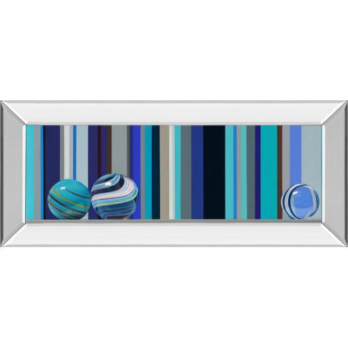 """The Four Seasons - Winter"" By Kevork Cholakian Mirror Framed Print Wall Art"