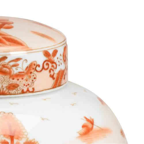 Chan Covered Jar - Red