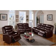Eden Brown Bonded Sofa