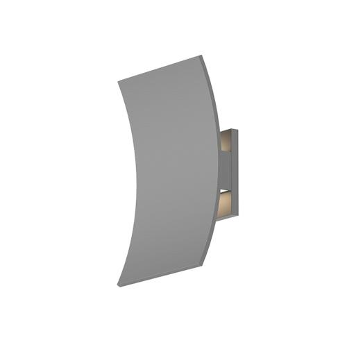 Sonneman - A Way of Light - Curved Shield LED Sconce [Color/Finish=Textured Gray]