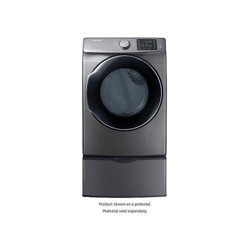 Gallery - 7.4 cu. ft. Gas Dryer in Platinum