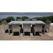 See Details - Corsica Outdoor Dining Set for 8