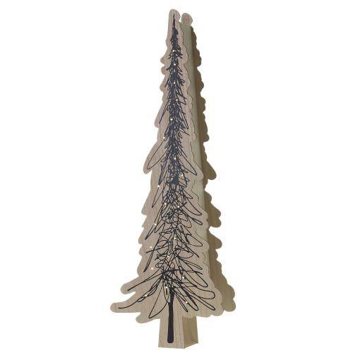 """17.25""""x 6""""x 48.25"""" Winter Park Collection (Tree Option)"""
