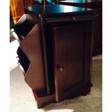 See Details - Cherry Magazine Side Table