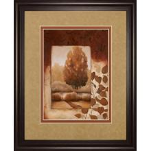 """Fall Vignette Il"" By Carol Robinson Framed Print Wall Art"