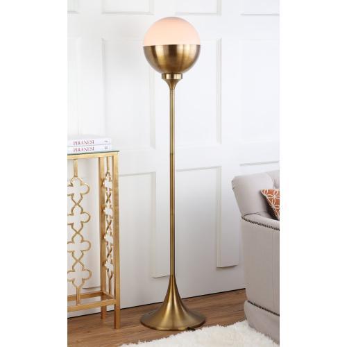 Renato 63.5-INCH H Floor Lamp - Brass Gold