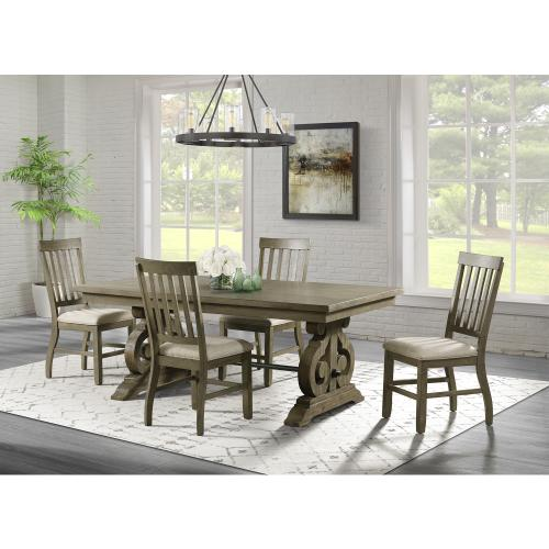 Stone Standard Height Side Chair Set