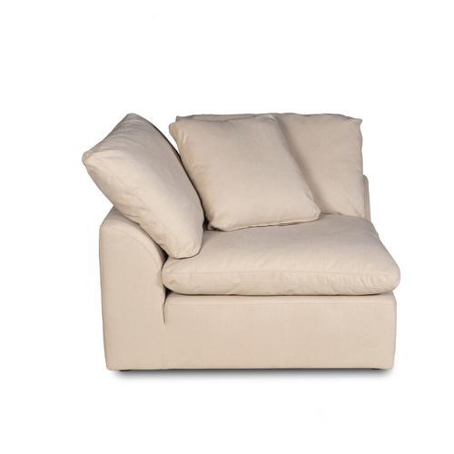 Cloud Puff Slipcovered Modular Sectional Small Sofa/Loveseat - 391084 (2 Piece)