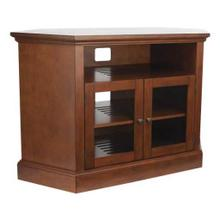 """View Product - Chestnut Audio Video Stand Corner unit - fits AV components and TVs up to 52"""""""
