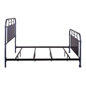 Liberty Furniture Industries - Queen Metal Bed- Navy
