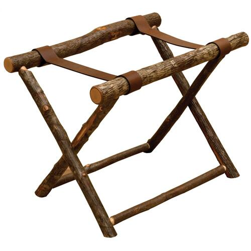 Fireside Lodge - Luggage Rack - Natural Hickory