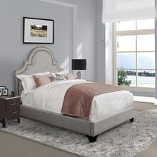 Mackenzie Cobblestone Upholstered Bed Collection