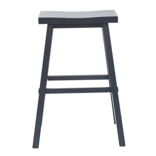Liberty Furniture Industries - 30 Inch Sawhorse Stool- Navy