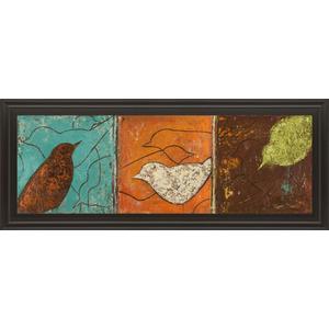 """Lovely Birds I"" By Patricia Pinto Framed Print Wall Art"