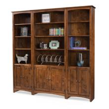 Flush Bookcase Wall Example