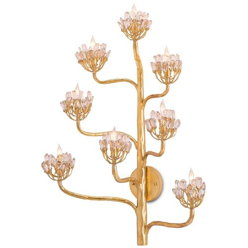 Gallery - Agave Americana Gold Wall Sconce