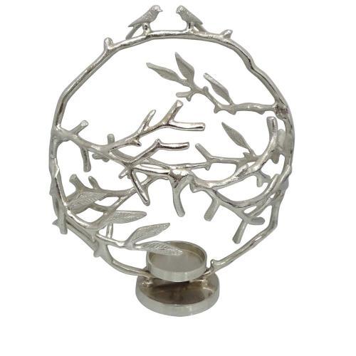 Giselle Medium Birds & Branches Candleholder