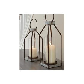 Lantern Set Gray/Black