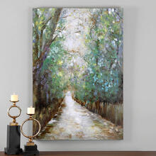 View Product - Greenway Hand Painted Canvas