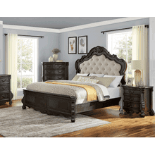 Rhapsody 4-Piece Queen Set-(Q Bed/NS/Dresser/Mir)