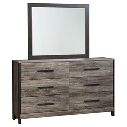 Cazenfeld Dresser and Mirror