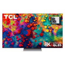 """View Product - TCL 65"""" Class 6-Series 8K Mini-LED QLED Dolby Vision HDR Smart Roku TV - 65R648"""