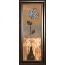 """Solitary Flower Il"" By Norman Wyatt Framed Print Wall Art"